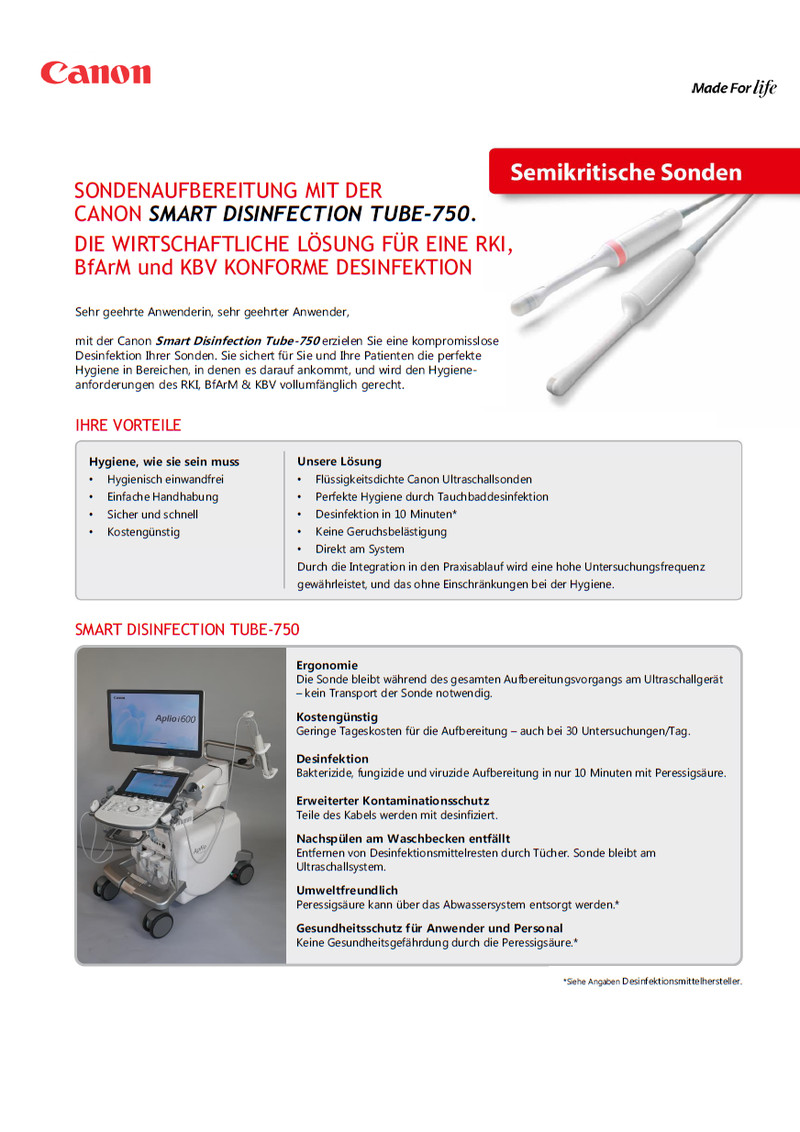 Smart Disinfection Tube 750
